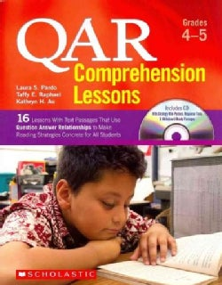 Qar Comprehension Lessons Grades 4-5: 16 Lessons With Text Passages That Use Question Answer Relationships to Mak... (Paperback)