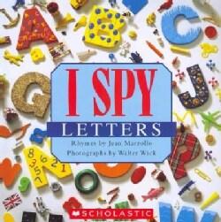 I Spy Letters (Paperback)