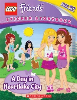 Lego Friends: A Day in Heartlake City (Paperback)