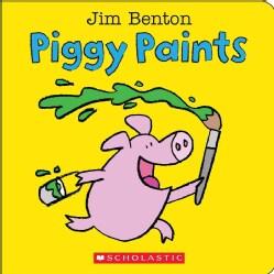 Piggy Paints (Board book)