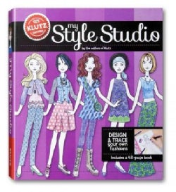 My Style Studio: Design & Trace Your Own Fashions (Paperback)