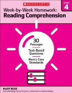 Reading Comprehension Grade 4 (Paperback)