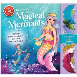 The Marvelous Book of Magical Mermaids: Dress Up Paper Mermaids and Their Seahorse Friends (Hardcover)