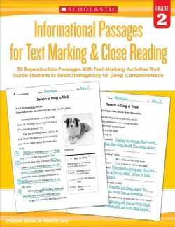 Informational Passages for Text Marking & Close Reading, Grade 2 (Paperback)