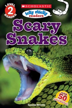 Scary Snakes (Paperback)