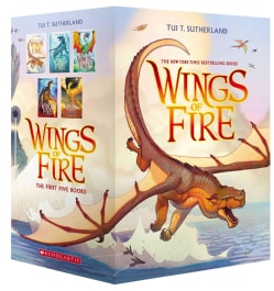 Wings of Fire: The Dragonet Prophecy / The Lost Heir / The Hidden Kingdom / The Dark Secret / The Brightest Night (Paperback)