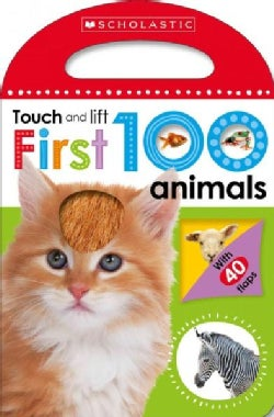 Touch and Lift First 100 Animals (Board book)
