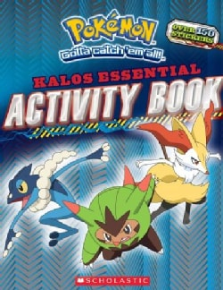 Pokemon Kalos Essential Activity Book (Paperback)