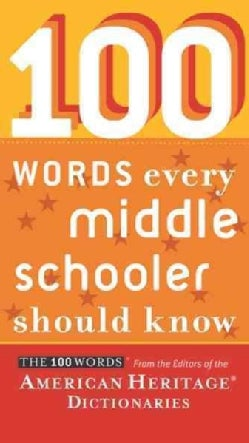 100 Words Every Middle Schooler Should Know (Paperback)