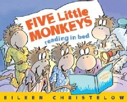 Five Little Monkeys Reading in Bed (Hardcover)