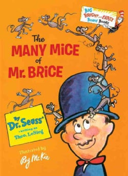 The Many Mice of Mr. Brice (Board book)