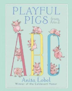 Playful Pigs from A to Z (Hardcover)