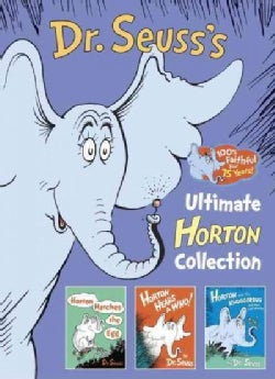 Dr. Seuss's Ultimate Horton Collection: Horton Hatches the Egg / Horton Hears a Who! / Horton and the Kwuggerbug ... (Hardcover)