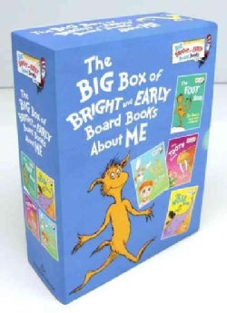 The Big Box of Bright and Early Board Books About Me (Board book)