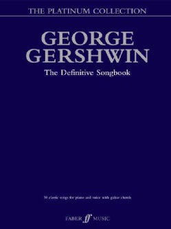 George Gershwin Platinum Collection: Piano/Vocal/chords (Paperback)