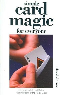 Simple Card Magic For Everyone (Paperback)