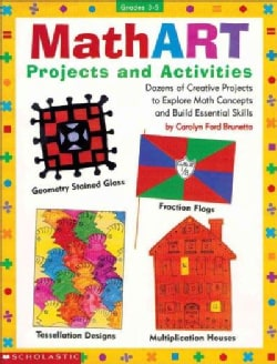 Math Art, Grades 3-5: Projects and Activities (Paperback)