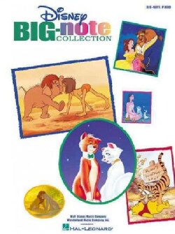 Disney Big-Note Collection: Big-Note Piano (Paperback)