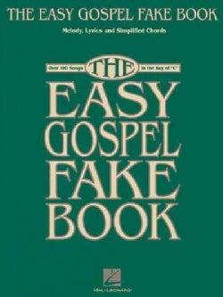 Easy Gospel Fake Book (Paperback)