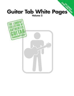 Guitar Tab White Pages (Paperback)