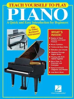 Teach Yourself to Play Piano (Paperback)