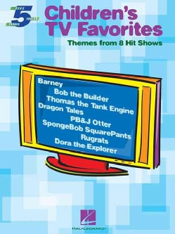 Children's TV Favorites: Themes from 8 Hit Shows (Paperback)