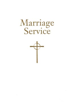 Marriage Service: From Book of Common Worship (Paperback)
