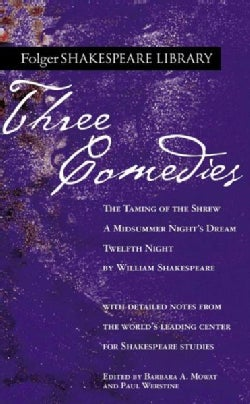 Three Comedies: The Taming of the Shrew/A Midsummer Night's Dream/Twelfth Night (Paperback)