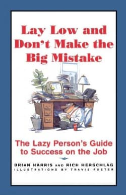 Lay Low and Don't Make the Big Mistake: The Lazy Person's Guide to Success on the Job (Paperback)