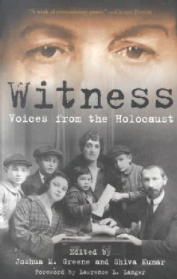 Witness: Voices from the Holocaust (Paperback)