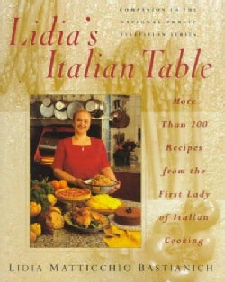 Lidia's Italian Table (Hardcover)