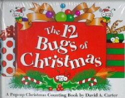 The 12 Bugs of Christmas: A Pop-Up Christmas Counting Book (Hardcover)