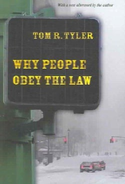 Why People Obey the Law (Paperback)