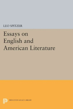 Essays on English and American Literature (Paperback)