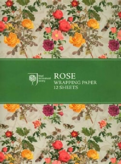 RHS Rose Wrapping Paper (General merchandise)