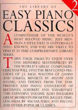 Library of Easy Piano Classics 2 (Paperback)