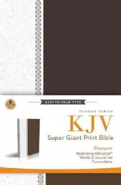 Holy Bible: King James Version Super Giant Print Reference Bible (Hardcover)