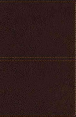 The Holy Bible: King James Version, Earth Brown Leathersoft, Giant Print Center-Column Reference Edition (Paperback)