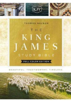 The King James Study Bible: King James Version, Full Color Edition (Hardcover)