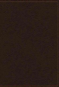 Holy Bible: King James Study Bible, Brown, Bonded Leather, Full-color Edition (Paperback)