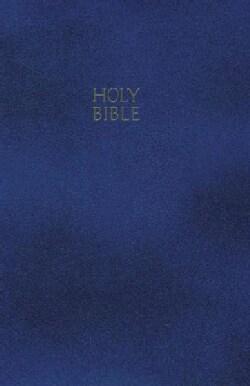 Holy Bible: New King James Version, Blue, Leatherflex, Gift & Award (Paperback)