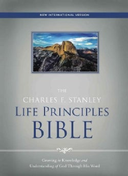 Holy Bible: New International Version, the Charles F. Stanley Life Principles Bible (Hardcover)