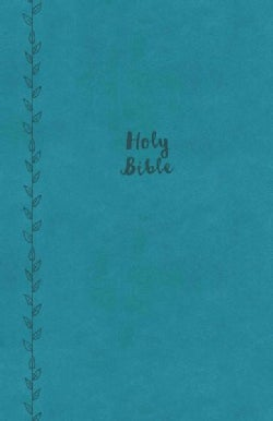 The Holy Bible: King James Version, Value Compact Thinline Bible, Imitation Leather, Teal Leathersoft, Red Letter... (Paperback)