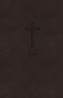 The Holy Bible: King James Version, Black Leathersoft, Value Thinline Bible, Red Letter Edition (Paperback)