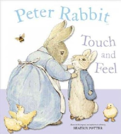 Peter Rabbit Touch And Feel Book (Board book)