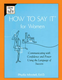 How to Say It for Women (Paperback)