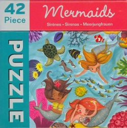 Mermaids 42 Piece Puzzle (Novelty book)