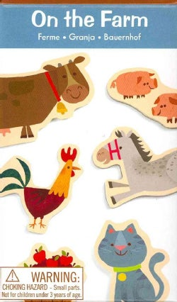 On the Farm Wooden Magnetic Shapes (Toy)
