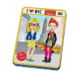 I Love NYC Magnetic Figures (Hardcover)