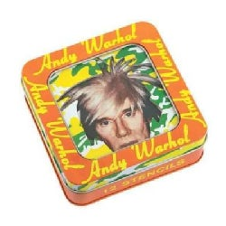 Andy Warhol Stencil Set (Hardcover)